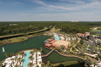 Aerial View at Four Seasons Resort Orlando At Walt Disney World Resort in Lake Buena Vista