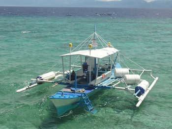 Sea Turtle House Moalboal Cebu Boating