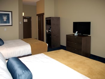 Standard Room, 2 Queen Beds, Non Smoking, Refrigerator & Microwave