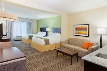 Suite, 2 Queen Beds, Non Smoking (Mobility, Accessible Tub)