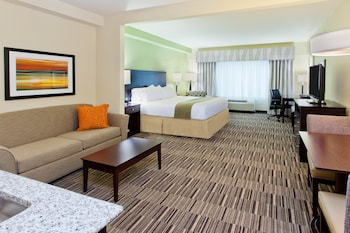 Suite, 1 King Bed, Non Smoking (Mobility, Roll-In Shower)
