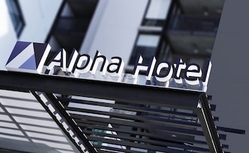 Exterior detail at Alpha Mosaic Hotel Fortitude Valley in Fortitude Valley