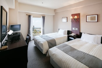 スタンダード ツインルーム 喫煙可 (17-19 square meters)|奈良ロイヤルホテル
