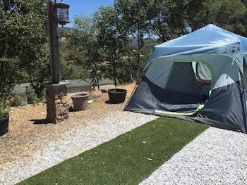 Economy Tent, 1 Twin Bed, Mountain View