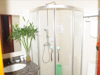 GreenTree Inn Wenshang Baoxiang Temple Express Hotel  - Bathroom  - #0