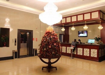 GreenTree Inn Yiwu International Trade City Traders Hotel - Lobby  - #0