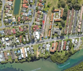 Aerial View at Best Western Kennedy Drive Airport Motel in Tweed Heads West