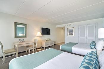 Dunes Manor Hotel - Room, 2 Double Beds, Oceanfront