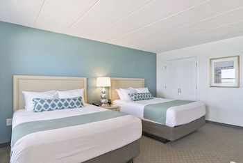 Dunes Manor Hotel - Room, 2 Double Beds, Oceanfront