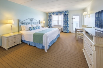 Dunes Manor Hotel - Room, 1 King Bed, Oceanfront