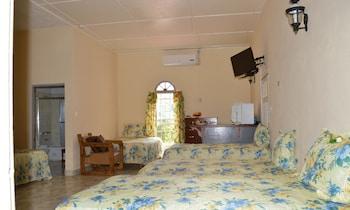 Family Shared Dormitory, Refrigerator, Garden View