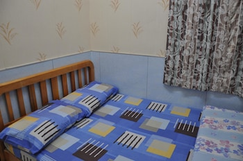 Double bed with Private Bathroom