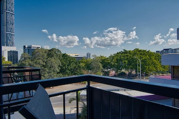 Balcony View at Soho Brisbane in Spring Hill