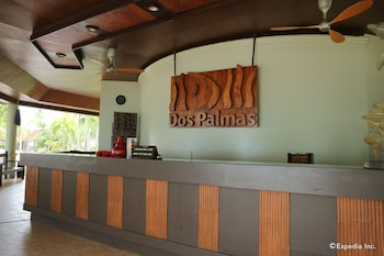 Dos Palmas Island Resort & Spa Palawan Reception