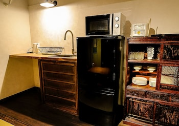 KYOTO MIYABI INN -ONLY ONE GROUP A DAY- Private Kitchenette