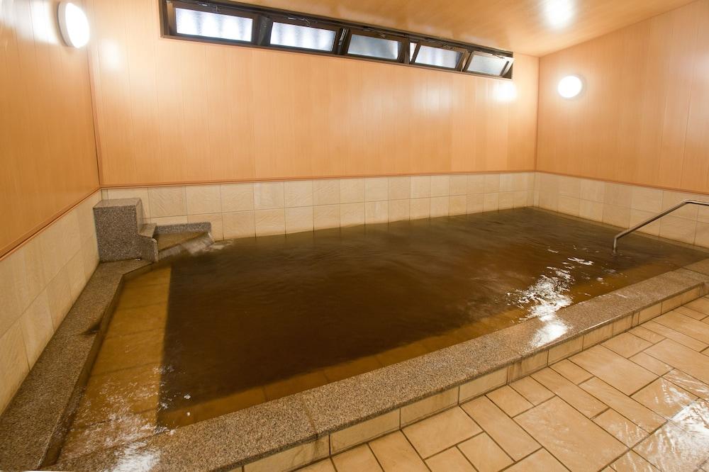 온센 호텔 나카하라 베소 -금연, 방진 설계(Onsen Hotel Nakahara Bessou-Non Smoking, Earthquake retrofit) Hotel Image 49 - Indoor Spa Tub
