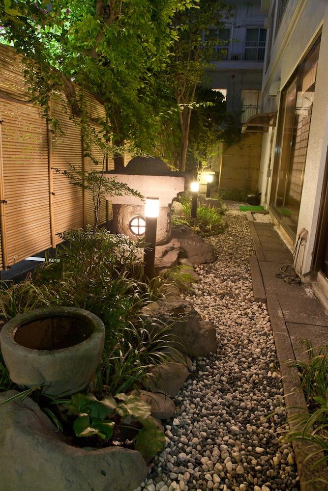 온센 호텔 나카하라 베소 -금연, 방진 설계(Onsen Hotel Nakahara Bessou-Non Smoking, Earthquake retrofit) Hotel Image 46 - Courtyard