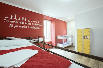 Shared Dormitory, Mixed Dorm (with 8 beds)