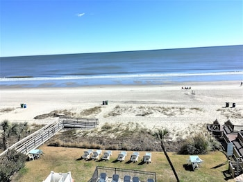 Balcony View at The Beverley Beach House in Myrtle Beach