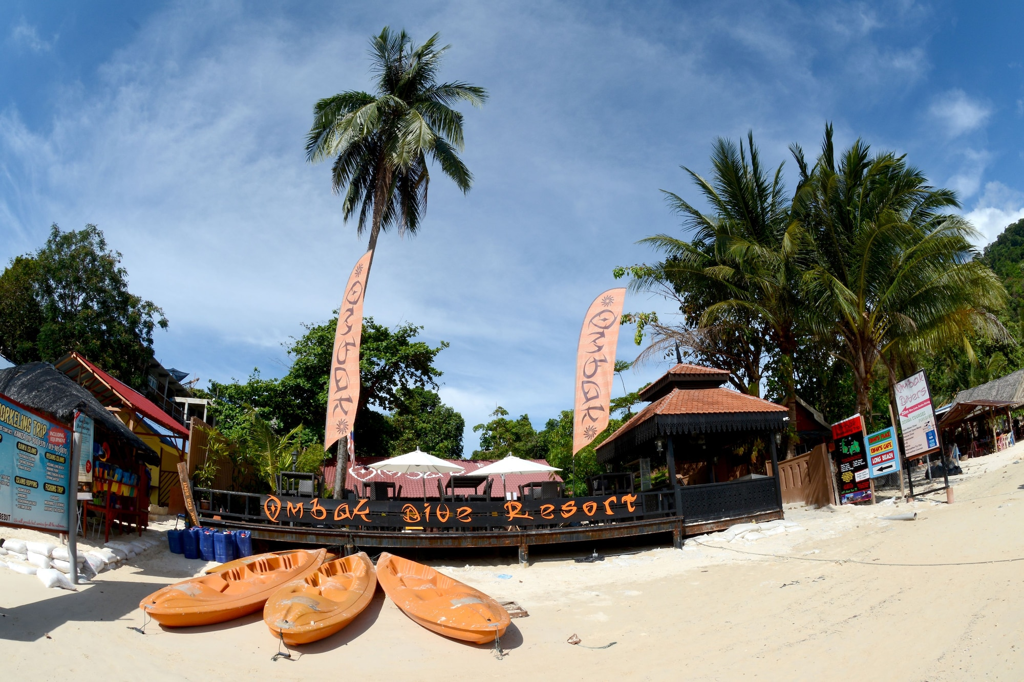 Ombak Dive Resort, Besut