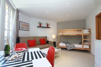 Apartment with bulk beds, 4 people