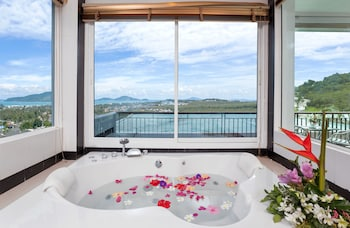 Exclusive Double Room, 1 Double or 2 Twin Beds, Bathtub, Sea View