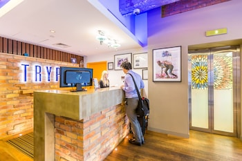 Reception at TRYP by Wyndham Fortitude Valley Hotel Brisbane in Fortitude Valley