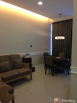 The Metrocentre Hotel and Convention Center Bohol Living Area