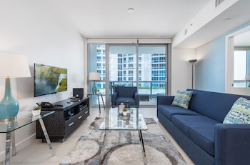 One Bedroom Apartment with Partial Ocean View