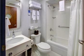 Bathroom at Fairfield Inn New York Manhattan/Financial District in New York