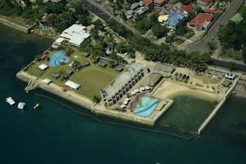 Danao Coco Palms Resort Cebu Aerial View