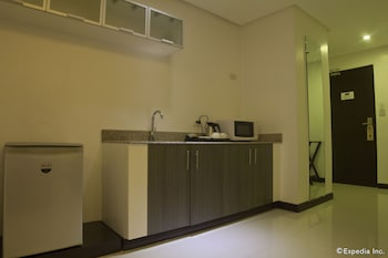 Regency Grand Suites Manila In-Room Kitchenette