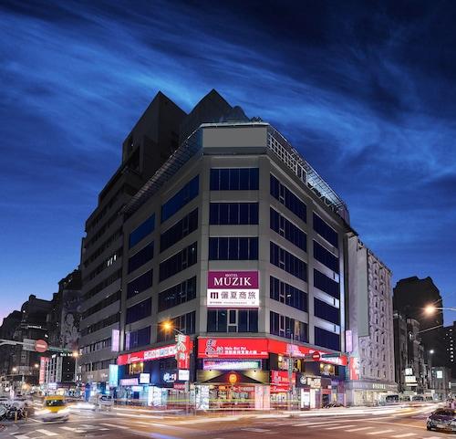 Muzik Hotel - Ximending Xining Branch, Taipei