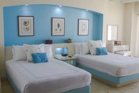 Junior Suite, 2 Double Beds, Terrace, Oceanfront