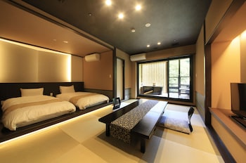 Japanese-Western style room - Breakfast + Dinner Included(Non-smoking)