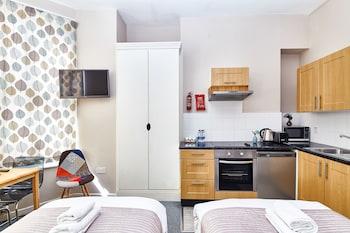 Premium Studio, 2 Twin Beds