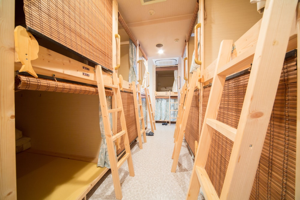 도쿄 게스트하우스 게스트하우스 와사비 도미토리룸
