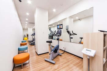HOTEL MYSTAYS HANEDA Gym