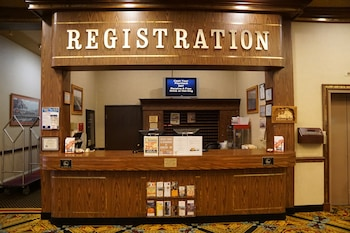 Reception at Railroad Pass Hotel & Casino in Henderson