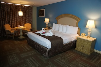 Guestroom at Railroad Pass Hotel & Casino in Henderson