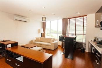 Premium Apartment, 1 Queen Bed, Park View